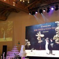 Lễ Thành Hôn Của Kim Thiên & Xuân Thanh Tại White Palace Ngày 08.03.2020